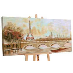 YS-Art Gemälde Stille in der Stadt 096