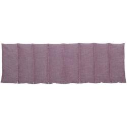 herbalind Wärmekissen 8 Kammer Wärmekissen mit Lavendel, aubergine 4580, (1-tlg) lila