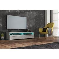 Trendmanufaktur TV-Lowboard 140 cm beton colorado/silber