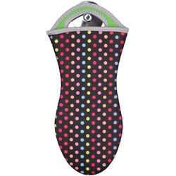 WENKO Topfhandschuhe Dots, (Set, 2 tlg., bestehend aus 2x Topfhandschuhe) bunt Topflappen und Topfhandschuh Kochen Backen Haushaltswaren