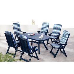 Sitzgruppe Santiago blau
