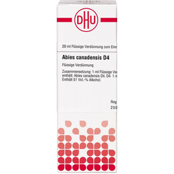 ABIES CANADENSIS D 4 Dilution 20 ml