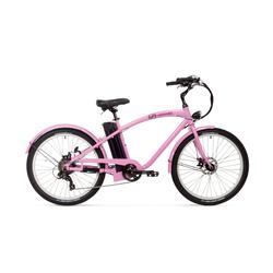 E Bike Cruiser Varaneo Beach Cruiser Rosa