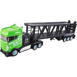 Autotransporter 1:16 - 2,4GHz, 15 km/h grün-kombi