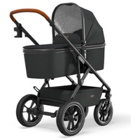 Moon Nuova Air 2021 black inkl. Babywanne