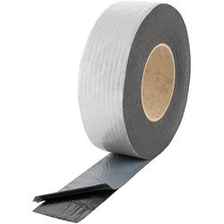 Poppstar Klebeband Alu Butyl Klebeband (Alu Butylband selbstklebend, 10m x 50mm x 1,5mm) 10m x 50mm x 1,5mm