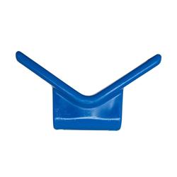 Blauer Bugpuffer für Bootstrailer DOMAR