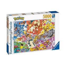 Ravensburger Puzzle Puzzle 5000 Teile Pokémon Allstars, Puzzleteile