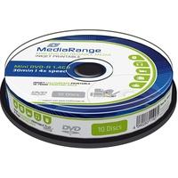 MediaRange DVD-R mini 10pcs Spindel Inkjet Full Printable,