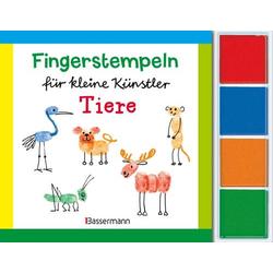Fingerstempeln Tiere-Set