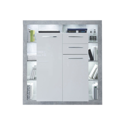 ebuy24 Sideboard Rominia Sideboard 2 Türen, 2 Schubladen und 8 Abla