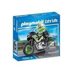 Playmobil® Spielzeug-Auto PLAYMOBIL® 70204 - City Life - Motorradtour