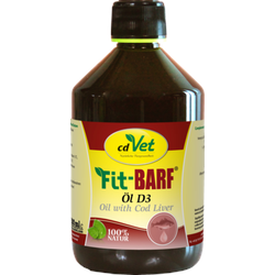 FIT-BARF Öl D3 vet. 500 ml