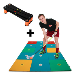 My Floorball SKILLS ZONE + SKILLER Türkis