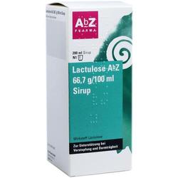 LACTULOSE AbZ 66,7 g/100 ml Sirup 200 ml