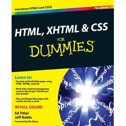 HTML XHTML  CSS FD 7E als Buch von Tittel/ Noble
