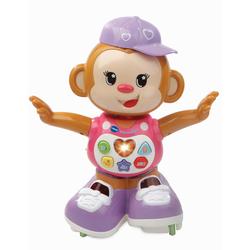 Vtech Lernspielzeug Lustiges Tanzäffchen, pink rosa Kinder Ab 12 Monaten Altersempfehlung