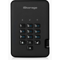 iStorage diskAshur2 5TB USB 3.1 schwarz (IS-DA2-256-5000-B)