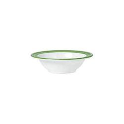 Schale 14 cm, Inhalt 22 cl Bistro - weiss/grün