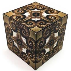 GeoBender Würfelpuzzle Cube Nautilus bunt Kinder Puzzle Gesellschaftsspiele