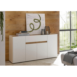 INOSIGN Sideboard CiTY Sideboard 51, im modernen Design weiß