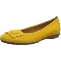 GABOR Shoes Damen Casual Geschlossene Ballerinas, Gelb (Mango 13), 38.5 EU