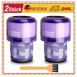 XIIW Filter-Set 2x HEPA-Filter + Burst für Dyson Cyclone V11 Absolute, Absolute Pro, Absolute Extra, Absolute Extra +, Absolute Extra Pro, SV14 / Vormotorfilter waschbar Vormotor Filter HEPA Staubfilter ersetzt