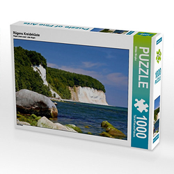 Rügens Kreideküste Lege-Größe 64 x 48 cm Foto-Puzzle Bild von Wibke Woyke Puzzle