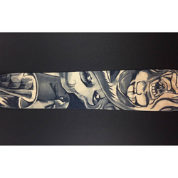 Tattoo Ärmel Strümpfe Armstulpen Motiv - Augen