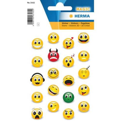 Schmucketikett Magic Emojis  Emojis 1 Blatt
