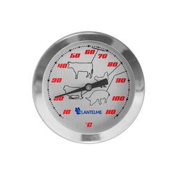 Lantelme Bratenthermometer Einstichthermometer Racing, Kerntemperaturthermometer bis 112 Grad Celsius