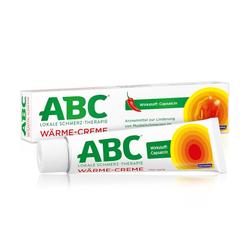 ABC Wärme-Creme Capsicum 0,75mg/g Hansaplast med