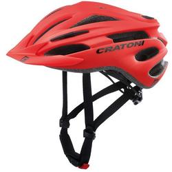 Cratoni Mountainbikehelm MTB-Fahrradhelm Pacer rot 54/58 - 54 cm - 58 cm
