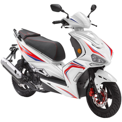 Luxxon Motorroller F18, 49 ccm, 45 km/h, Euro 4 weiß