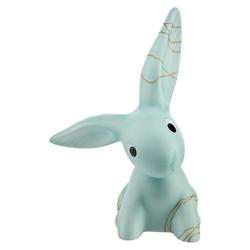 Goebel Tierfigur Golden Blue Big Bunny - Bunny De Luxe