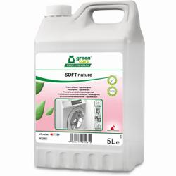 TANA green care SOFT nature Weichspüler, Hypoallergener Weichspüler mit Frischeduft, 5 l - Kanister