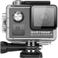 Easypix GoXtreme Black Hawk+ Action Cam Webcam, 4K, Wasserfest