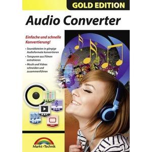 Markt & Technik Audio Converter Vollversion, 1 Lizenz Windows Musik-Software