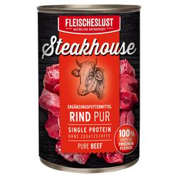 (6,07 EUR/kg) Fleischeslust Steakhouse Rind Pur 410 g