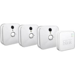 Blink Sync + HD WLAN IP-Überwachungskamera-Set 10-Kanal mit 3 Kameras 1280 x 720 Pixel