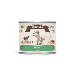 5x200g  + 200g GRATIS Natural Trail WILD CAT Super Premium Nassfutter für Katzen Katzenfutter