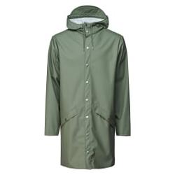 Rains - Long Jacket Olive - Jacken - Größe: XS/S