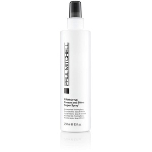 Paul Mitchell Freeze and Shine Super Spray - professionelles Haar-Spray für maximalen Halt, Finishing-Spray fixiert jedes Styling, 250 ml