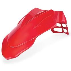Acerbis Supermoto Voorspatbord, rood, Eén maat