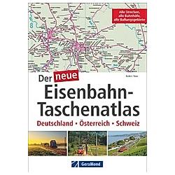 Der neue Eisenbahn-Taschenatlas - Buch