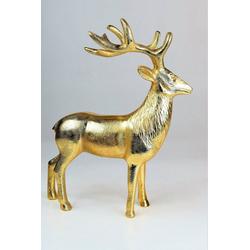 """ARTRA Dekofigur Hirschfigur """"Rudolph"""" (1 Stück), in Gold, Tischdeko, Gastgeschenke"""
