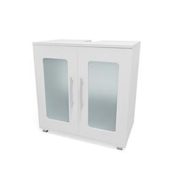 Vicco Waschbeckenunterschrank Waschtischunterschrank Rayk Unterschrank Waschbecken Waschtisch Bad Weiß