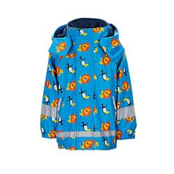 Regenbekleidung Regenjacke mit Innenjacke Regenjacken blau Gr. 86 Jungen Baby