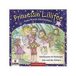 Prinzessin Lillifee - 010/Gute-Nacht-Geschichten Folge 19+20 -Jule und d (CD)