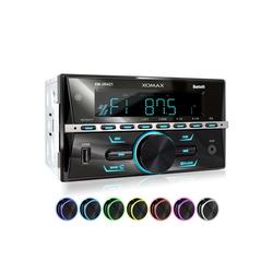 XOMAX Audio-System (XOMAX XM-2R421 Autoradio mit Bluetooth, USB und AUX-IN)